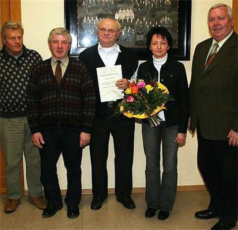50 Jahre Chorleitung - Roland Kolb - 2007