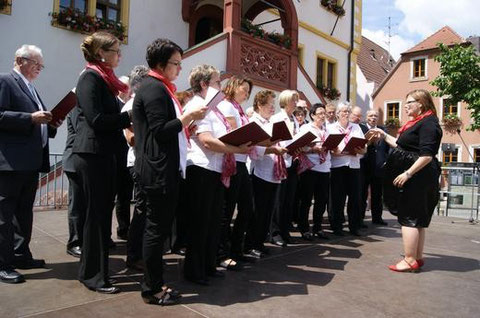 Tag des Chorliedes in Volkach - 2013