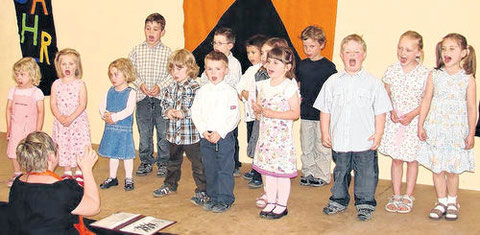 """Kinderchor """"Zwergenchor"""" 2009"""