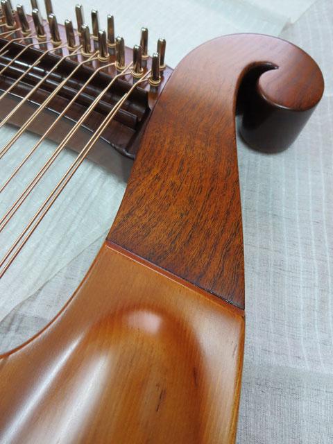 竪琴 ライアー てるる詩の木工房 てるる 41弦 39弦 leier lyre