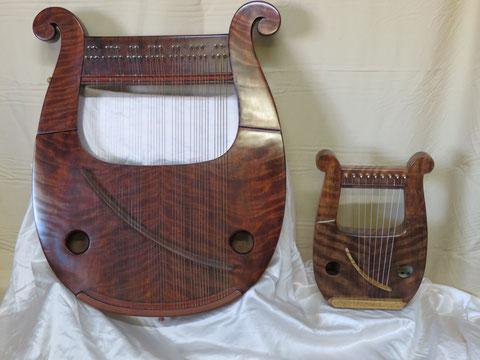 竪琴 ライアー てるる詩の木工房 あやはべる 9弦 32弦 39弦 leier lyre