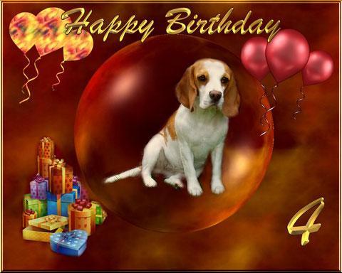 Happy Birthday Maus, wir lieben Dich