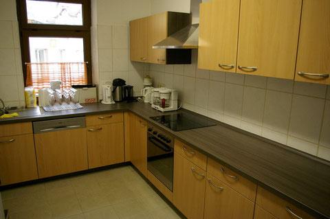 Unsere Moderne Küche ist im Mietpreis inbegriffen!