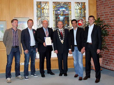Squasher werden zur Mannschaft des Jahres 2010 der Stadt Diepholz geehrt!