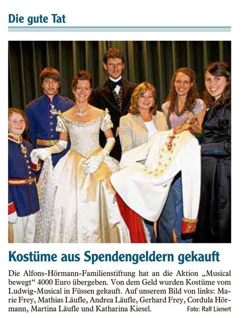 Allgäuer Zeitung vom 26.05.2011