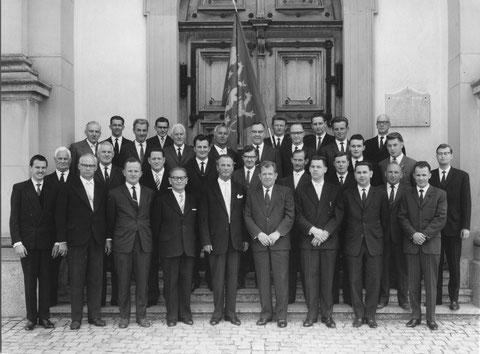 25 Jahre Männerchor Pfäffikon am Etzel 1963