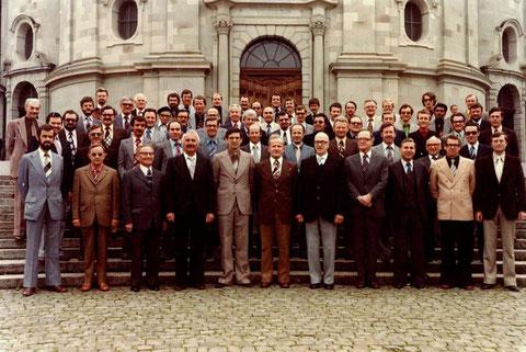 Am Zentralschweizerischen Sängerfest 1978 in Einsiedeln