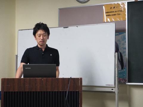 自閉症の障害特性と支援方法についての講義とグループワークでした。