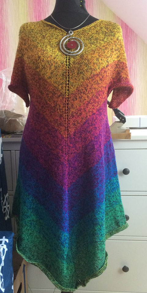 "Strickkleid, Bobbel ""Happy Galaxy"""
