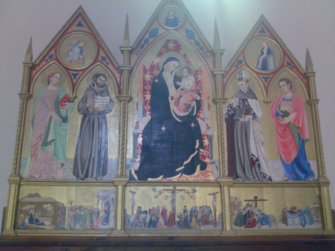 Pala dell'Altare della Chiesa di S. Francesco a Narni - Maggio 09