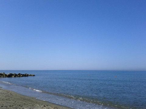 Idem c. s. - dalla riva del mare