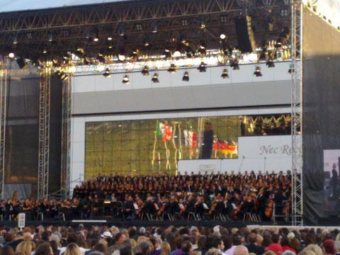 Il concerto diretto da Riccardo Muti per la città dell'Aquila - Coppito (AQ) - 06 09 09