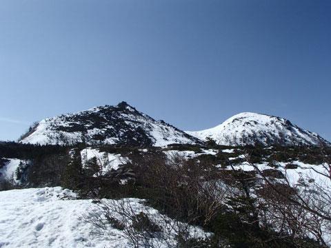 天狗岳 雪山 ガイド ツアー