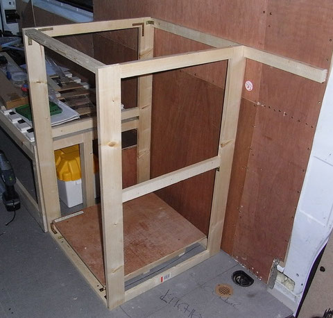 Fridge frame