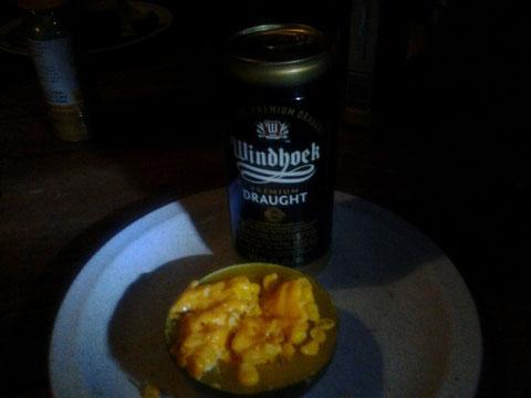 Lecker mit Windhoek Bier