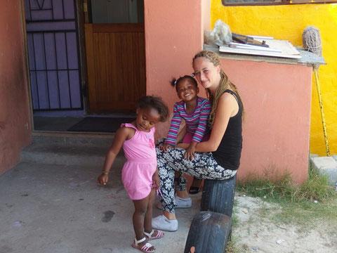 Sofie mit ihren kids