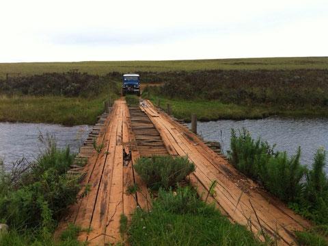 Brücke in einem Nationalpark