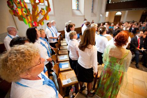 Hochzeit in der Hasper Kirche 2011
