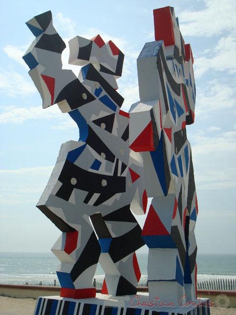 """La Danse, œuvre de Marc-Antoine Bissière, dit """"Louttre.B"""""""