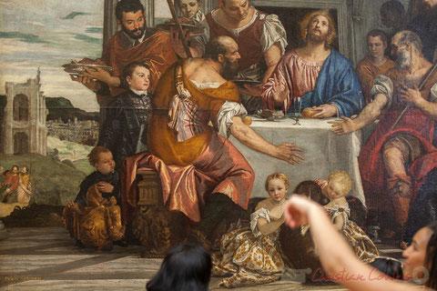 Les Noces de Cana, Véronèse, Salle de la Joconde, Musée du Louvre (Détail)