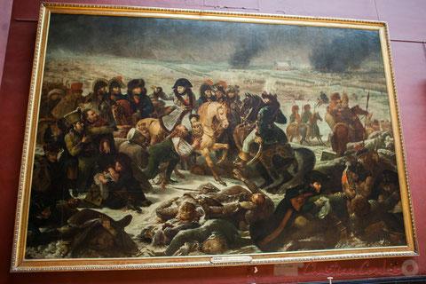 Napoléon sur le champ de bataille d'Eylau (9 février 1807), Baron Antoine-Jean GROS