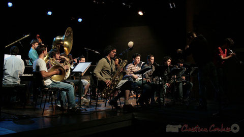 Concert du Big Band du Conservatoire Jacques Thibault de Bordeaux - Section MMA