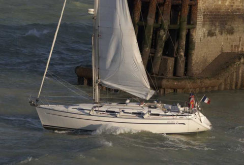 to sail out Dieppe harbour, Skyros4 whait for you.