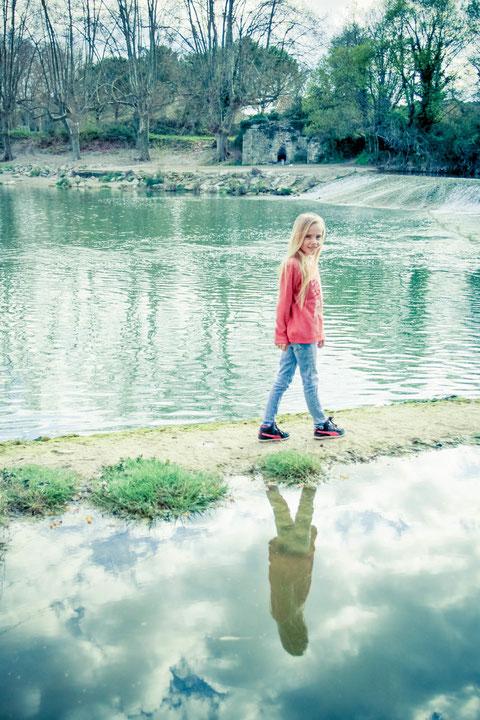 séance photo extérieur enfant