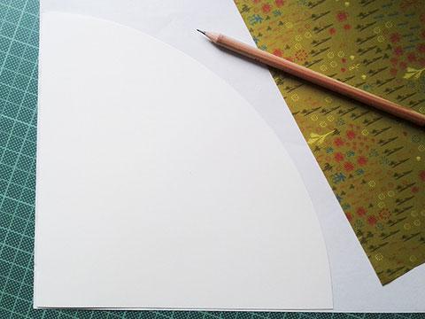 papier zuschneiden, schultuerte basteln, kathrins papier
