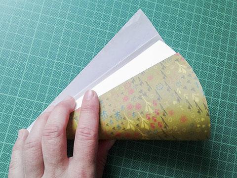 kathrins papier, kleine schultuete basteln