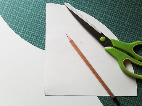 kleine schultuete basteln, schablone, kathrins papier