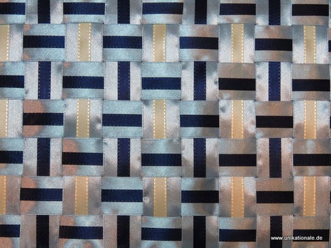 """Japanische Flechttechnik, Herstellung Muster """"Streifen auf Streifen"""""""