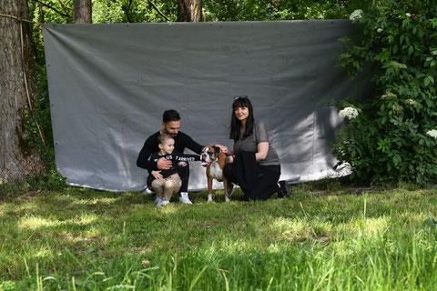 Avy dit Kookei et sa famille, la doyenne de l'élevage