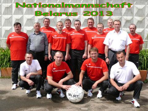 Nationalmannschaft Weißrussland (Belarus) 2013