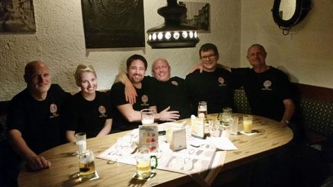 v.l.n.r.: Ludwig, Ramona, Markus, Uli, Chris und Harry