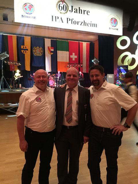 v.l.n.r.: Ulli Mohr, Detlev Albrecht & Markus Glock