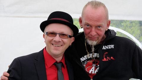 Joe Carpenter und DJ Andy