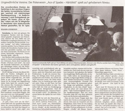 Schwäbische Post vom 14.02.2011
