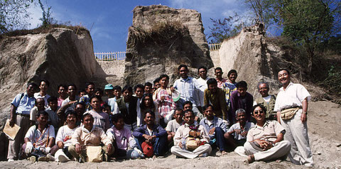 1997年:インドネシア共和国ジャワ島サンギラン遺跡