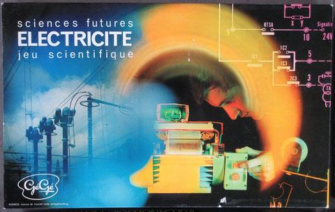 electricité jeu gégé vintage toy jouet ancien sciences futures éducatif scientifique