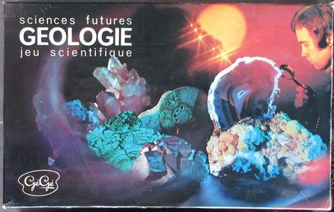 géologie jeu gégé vintage toy jouet ancien sciences futures éducatif scientifique