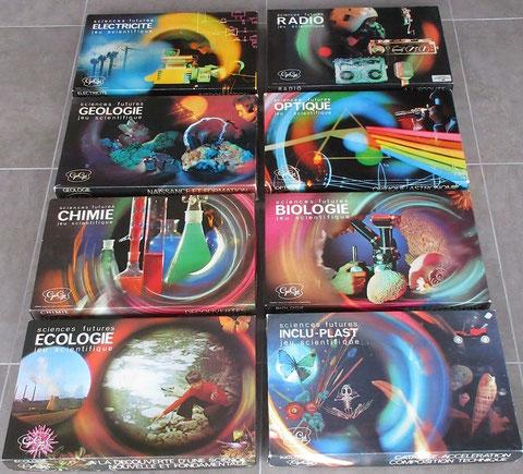 jeu gégé vintage toy jouet ancien sciences futures éducatif scientifique