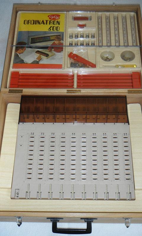 ordinatron 600 GéGé vintage computer game