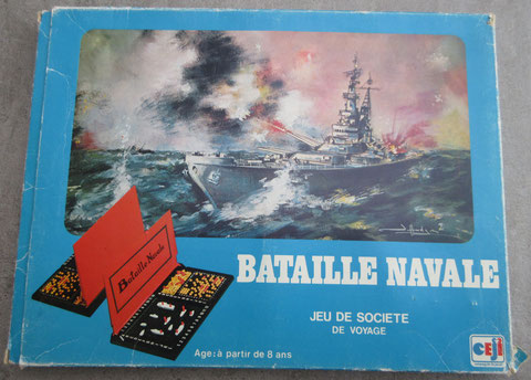 bataille navale de voyage ceji vintage game