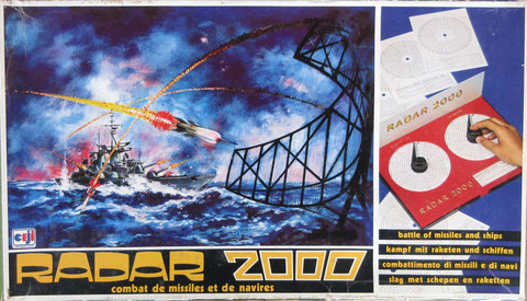 radar 2000 CEJI vintage game jeu ancien