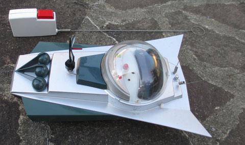KX 2000 SLJ space toy vintage jouet espace tin radio controlled controlé ancien