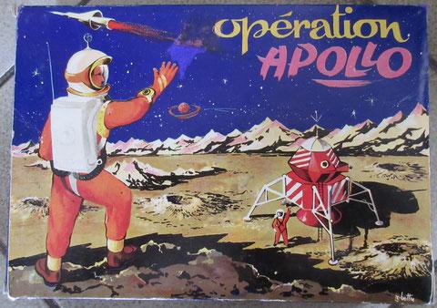 Opération Apollo vintage boardgame jeu société ancien espace fusées