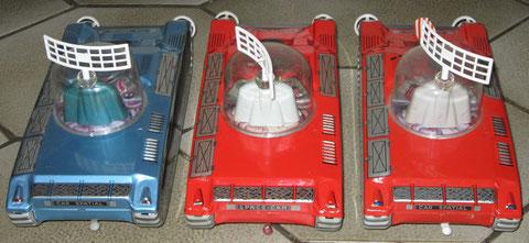 Car Spatial Mont Blanc Tin Toy Jouet Tole Space Car