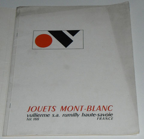Catalogue Jouets Mont Blanc Rumilly