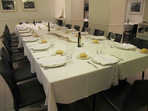 La Scala Restaurante. Sala 30 personas.